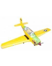 Avión Seagull T-34 Turbo Mentor Amarillo 25cc ARTF Gasolina/Electrico