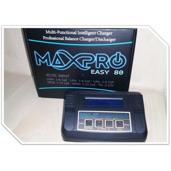 Cargador MaxPro Easy 80 (12/220V)