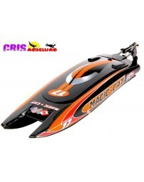 Lancha Magic Cat V5 Negra 2.4GHz RTR