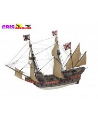 Maqueta Barco Galeon Santiago de Compostela del Siglo XVI Disarmodel
