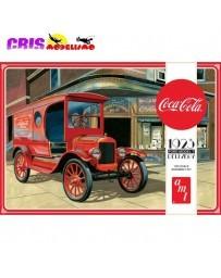 Maqueta AMT Ford T Coca Cola 1923 1:25 Round2
