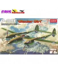 Maqueta Avión P-38F Lighting Glacier Girl 1/48 Academy