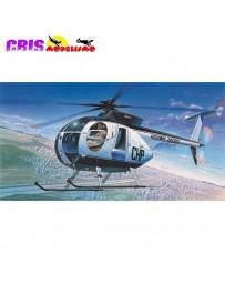 Maqueta Helicóptero Hughes 500D Police 1/48 Academy