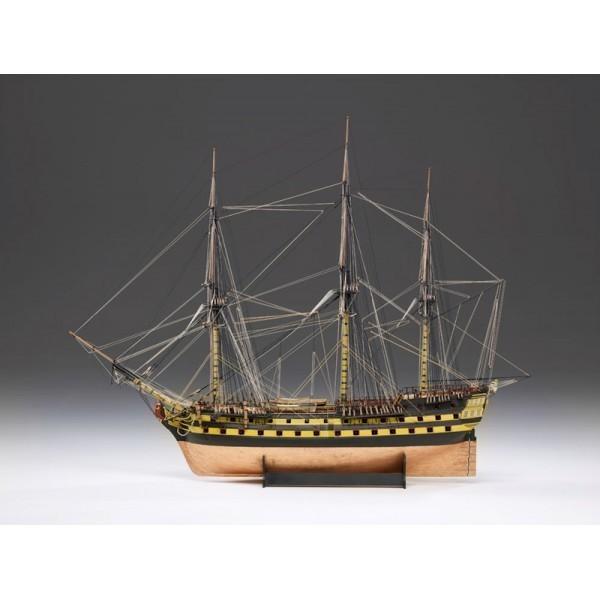 Maqueta H.M.S. Vanguard 1787