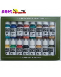 Set 16 Model Color Colores Edad Media