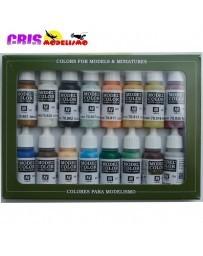 Set 16 Model Color Nauticos - Edad Vapor