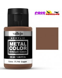 Metal Color Vallejo Cobre 32ml