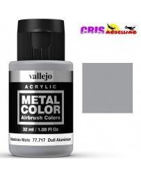 Metal Color Vallejo Aluminio Mate 32ml