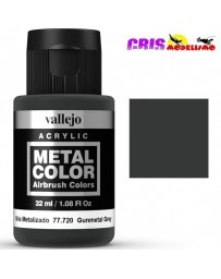 Metal Color Vallejo Gris Metalizado 32ml