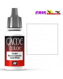 Game Color Blanco Calavera 17ml
