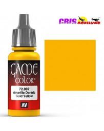 Game Color Amarillo Dorado 17ml
