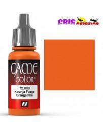 Game Color Naranja Fuego 17ml