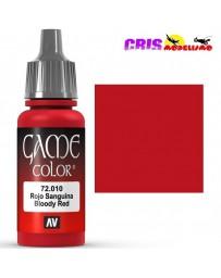 Game Color Rojo Sanguina 17ml