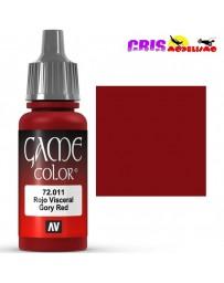 Game Color Rojo Visceral 17ml