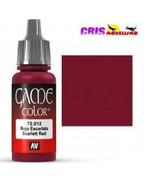 Game Color Rojo Escarlata 17ml