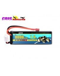 Batería Li-po Hard Case 7,4V 8000mAh 50C
