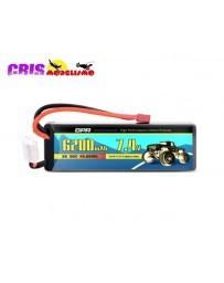 Batería Li-po Hard Case 7,4V 6200mAh 50C