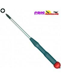 Microdestornillador Robertson Medidas: 00x80