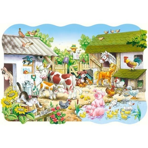 Puzzle Granja Maxi
