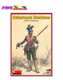 Figura Netherlands Musketeer XVIIc 1/16