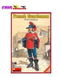 Figura French Guardsman XVII c. 1/16