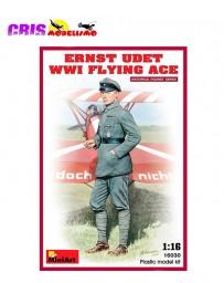Figura Ernst Udet WW1 Flying Ace 1/16