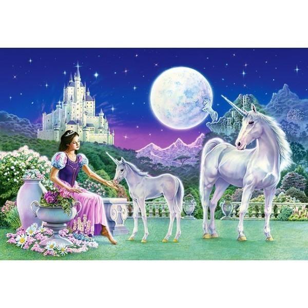 Puzzle La Princesa y el Unicornio de 500 piezas