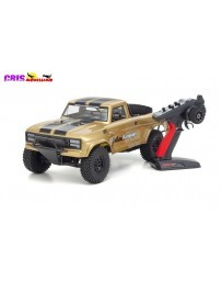 Coche Kyosho Outlaw Rampage Pro 1:10 RC EP Readyset - T2 Gold