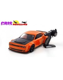 Coche Kyosho Inferno GT2 Dodge Challenger SRT 1:8 RC Brushless EP Readyset