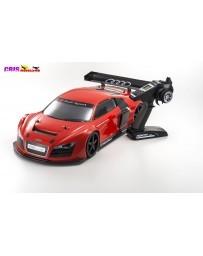 Coche Kyosho Inferno GT2 VE Race Specs Audi R8 LMS Rojo