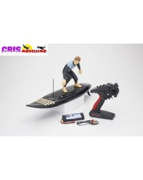 Lancha Rc Surfer 4 Readyset Electric (KT231P+) - Negro