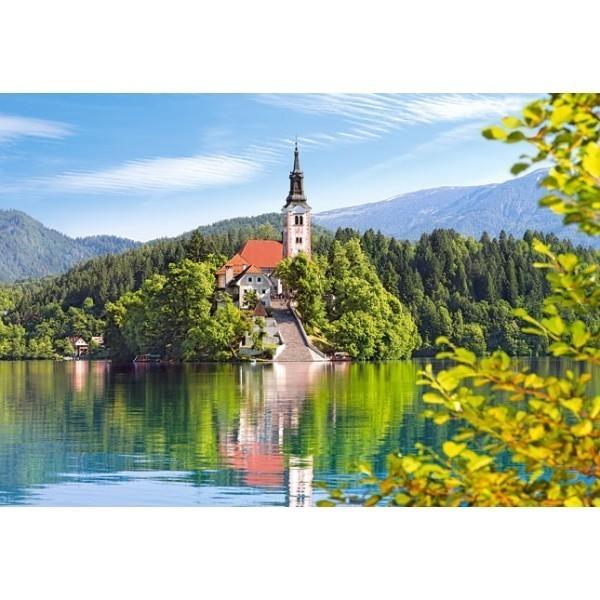 Puzzle Bled, Eslovenia de 1000 piezas