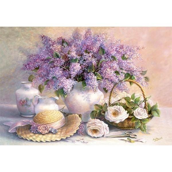 Puzzle Flores del Dia de 1000 piezas