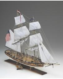 Maqueta Barco Eagle Brigantino Americano 1812 Corel