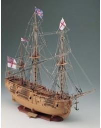 Maqueta Barco HMS Endeavour Corel