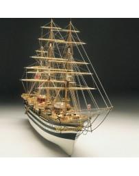 Maqueta Barco Amerigo Vespucci 1:100 Mantua Model