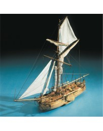 Maqueta Barco Cañonero Holandés Mantua Model
