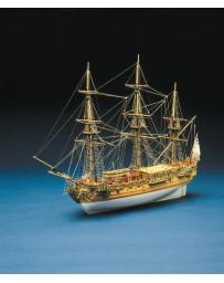 Maqueta Barco Royal Caroline Mantua Model