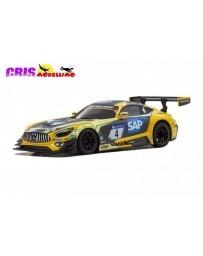 Kyosho Mini-Z RWD Mercedes AMG GT3 Yellow-Black (W-MM/KT531P)