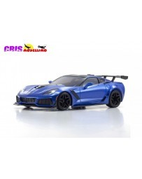 Kyosho Mini-Z RWD Chevrolet Corvette ZR1 Blue (W-MM/KT531P)