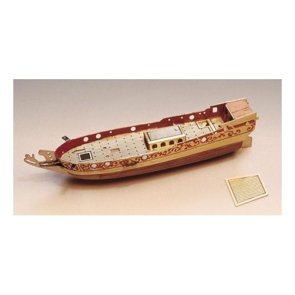 Maqueta Yacht Holandes - Barco en botella