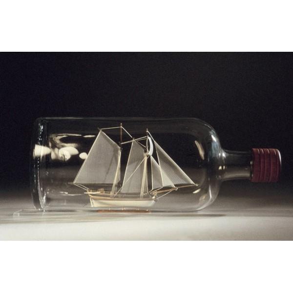 Maqueta Hannah - Barco en botella