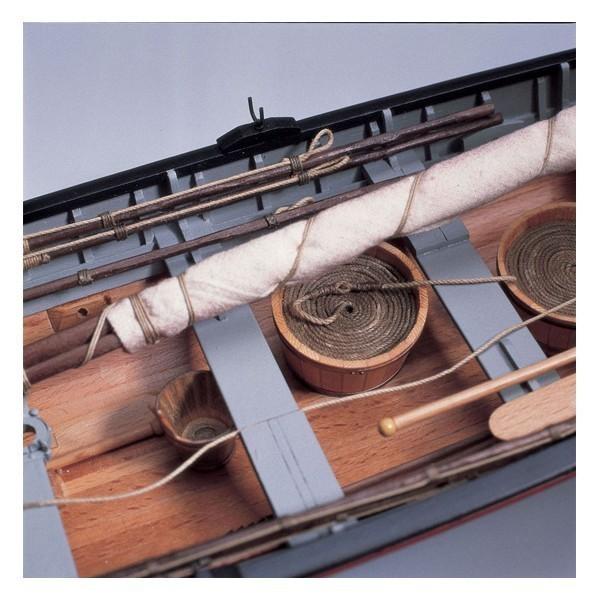 Maqueta Baleniera New Bedford 1860