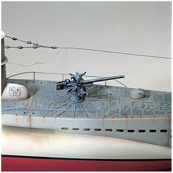 Maqueta Submarino Boat Type VIIB U-47