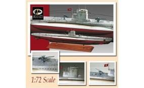 Maqueta Submarino Type VIIB U-47 Amati