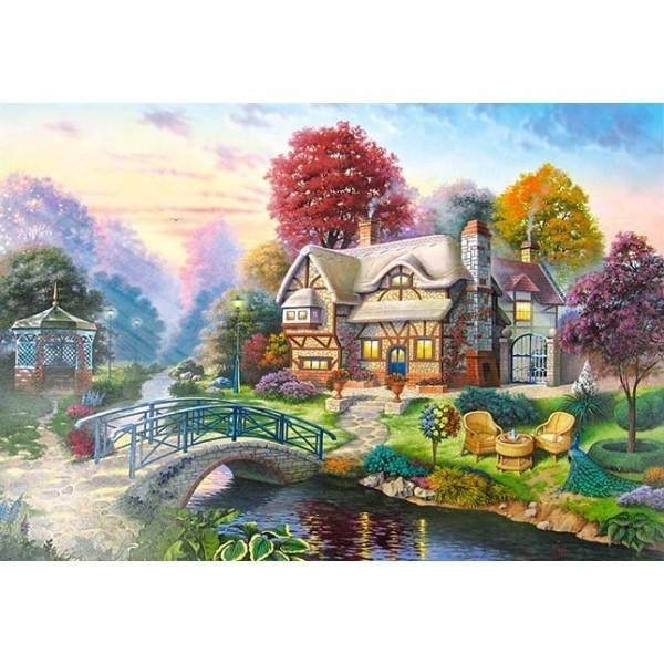 Puzzle Paisaje de Otoño de 3000 piezas