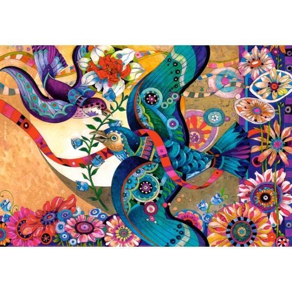Puzzle La Alegre Primavera de 3000 piezas