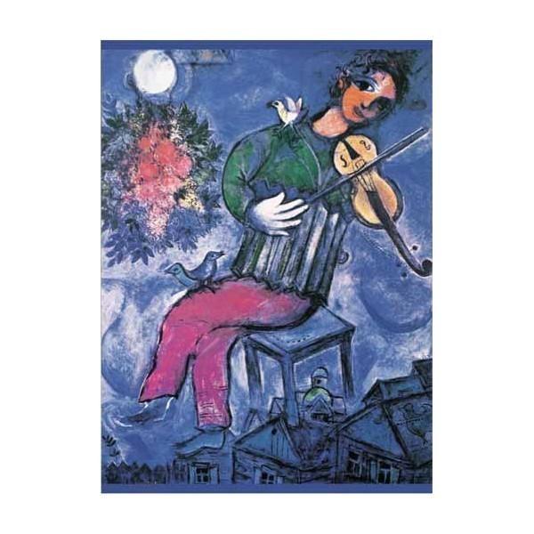 Puzzle Violinista Azul de 1000 piezas