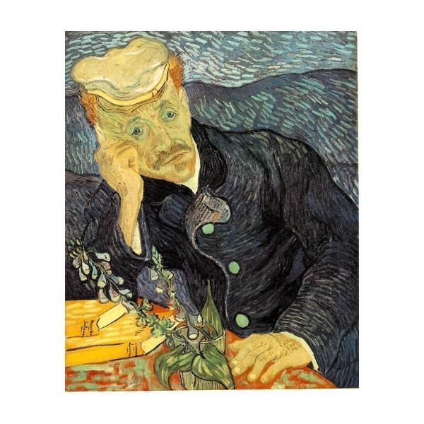 Puzzle Retrato del Dr. Gachet de 1000 piezas
