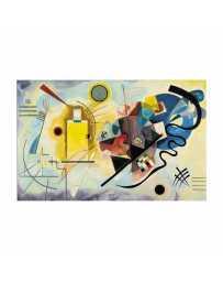 Puzzle Amarillo Rojo Azul 1925 de 1500 piezas